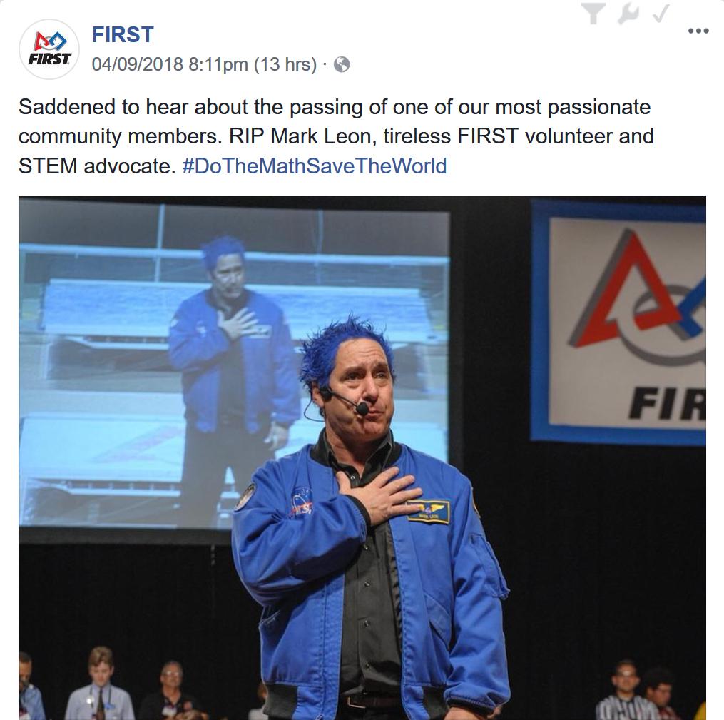 Mark Leon RIP